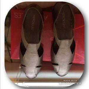 4b04991ec65530 AEROSOLES Shoes - Aerosoles Believe Bronze sandals🛍